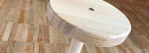 一脚椅子円座