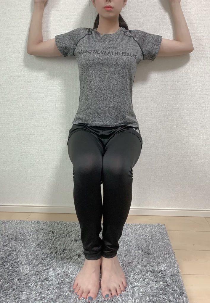 大人用一脚椅子トレーニング
